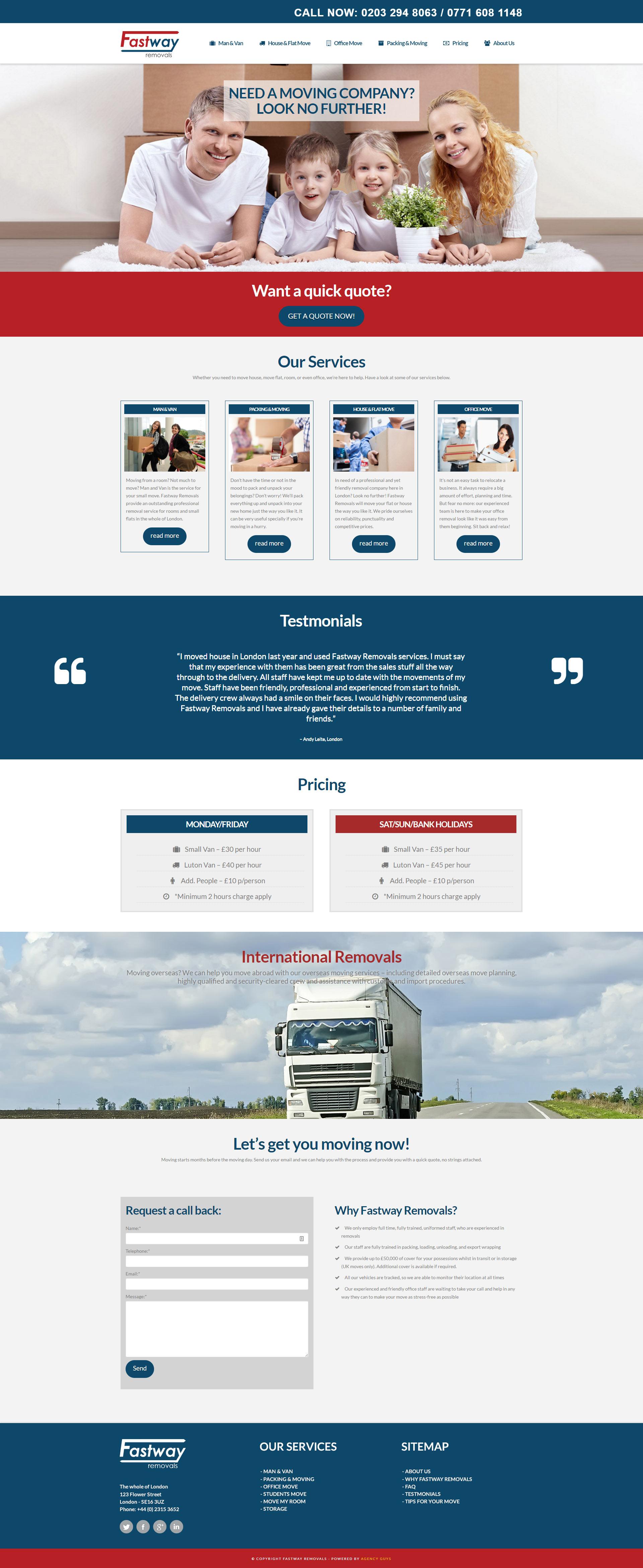 fastway-website